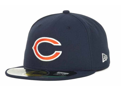 Chicago Bears New Era NFL 2012 Kids On Field 59FIFTY Cap