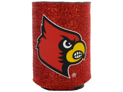 Louisville Cardinals Glitter Can Coozie