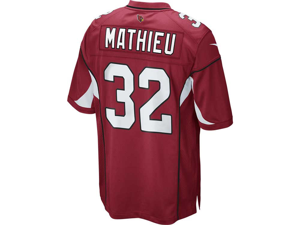 Arizona Cardinals Tyrann Mathieu Nike NFL Men s Game Jersey  e14464c94e70
