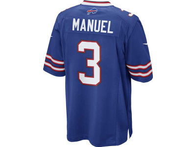 Buffalo Bills EJ Manuel Nike NFL Men's Game Jersey
