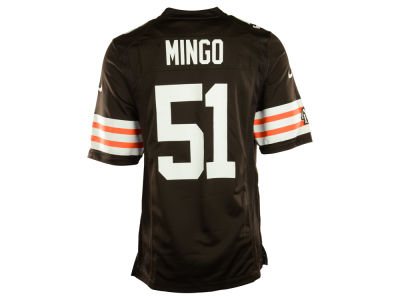 Cleveland Browns Barkevious Mingo Nike NFL Men's Game Jersey
