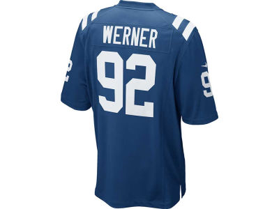 Indianapolis Colts Bjoern Werner Nike NFL Men's Game Jersey