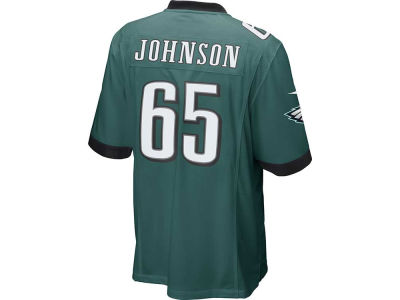 Philadelphia Eagles Lane Johnson Nike NFL Men's Game Jersey
