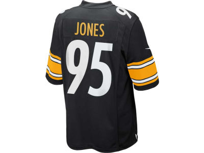 Pittsburgh Steelers Jarvis Jones Nike NFL Men's Game Jersey
