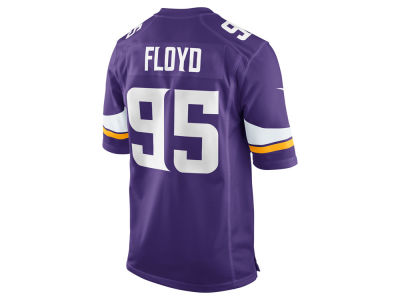Minnesota Vikings Sharrif Floyd Nike NFL Men's Game Jersey