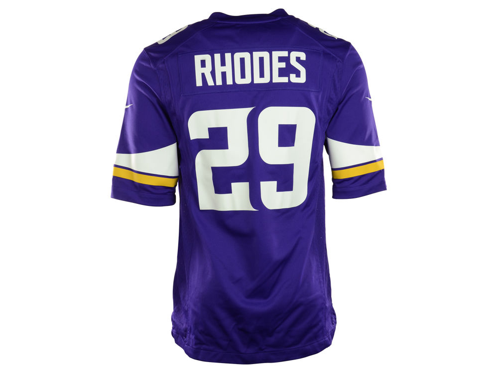 Minnesota Vikings Xavier Rhodes Nike NFL Men s Game Jersey  a6adcfb41