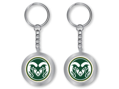 Colorado State Rams Spinning Keychain