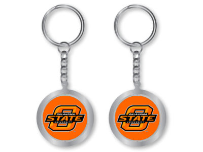 Oklahoma State Cowboys Spinning Keychain
