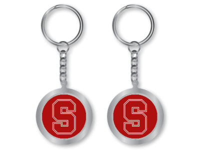 Stanford Cardinal Spinning Keychain