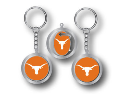 Texas Longhorns Spinning Keychain