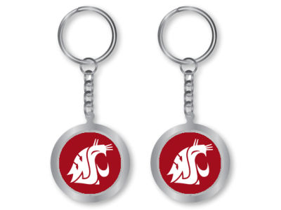 Washington State Cougars Spinning Keychain