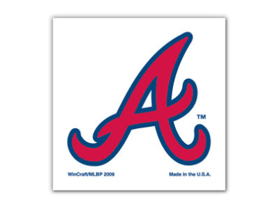 Atlanta Braves Tattoo 4-pack