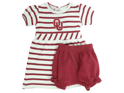 Oklahoma Sooners NCAA Infant Stripe Dress