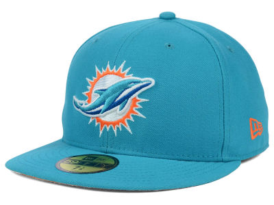 Miami Dolphins New Era NFL 2012 On Field 59FIFTY Cap