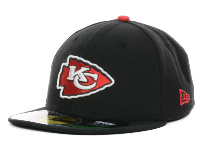 Kansas City Chiefs New Era NFL 2012 Kids On Field 59FIFTY Cap