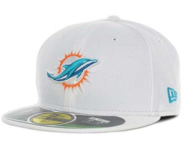 Miami Dolphins New Era NFL 2012 Kids On Field 59FIFTY Cap