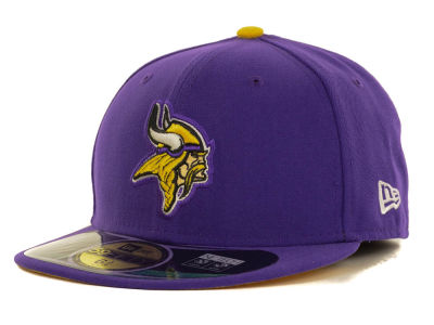 Minnesota Vikings New Era NFL 2012 Kids On Field 59FIFTY Cap