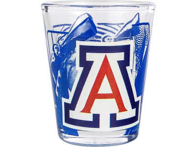 Arizona Wildcats 3D Wrap Color Collector Glass