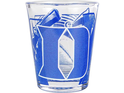 Duke Blue Devils 3D Wrap Color Collector Glass