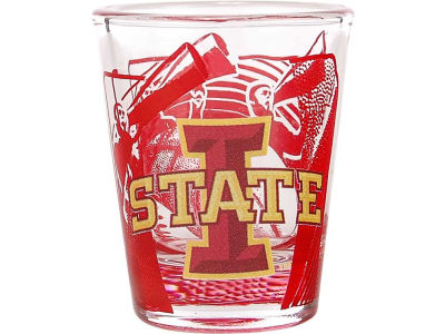 Iowa State Cyclones 3D Wrap Color Collector Glass