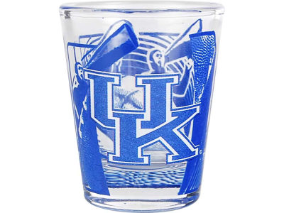 Kentucky Wildcats 3D Wrap Color Collector Glass
