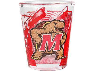 Maryland Terrapins 3D Wrap Color Collector Glass