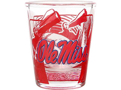Ole Miss Rebels 3D Wrap Color Collector Glass