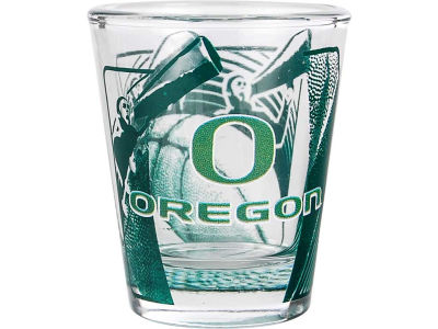 Oregon Ducks 3D Wrap Color Collector Glass
