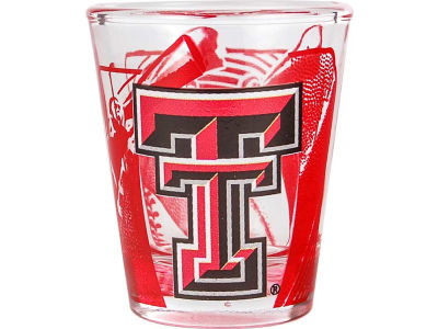 Texas Tech Red Raiders 3D Wrap Color Collector Glass