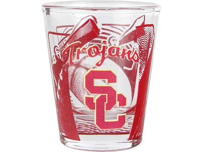 USC Trojans 3D Wrap Color Collector Glass