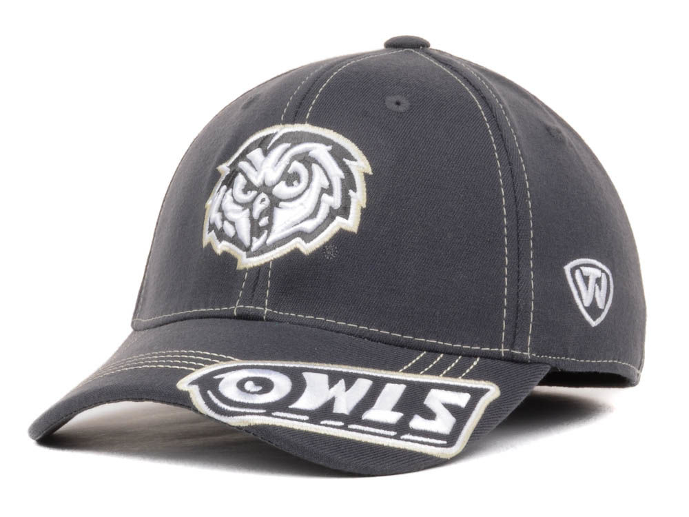 competitive price 424c8 0bbf6 ... closeout temple owls top of the world ncaa slate one fit cap 85724 523cb
