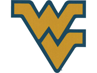 West Virginia Mountaineers 4x4 Magnet