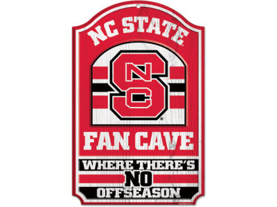 North Carolina State Wolfpack 11x17 Wood Sign