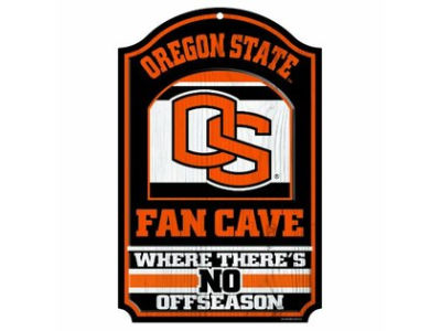 Oregon State Beavers 11x17 Wood Sign