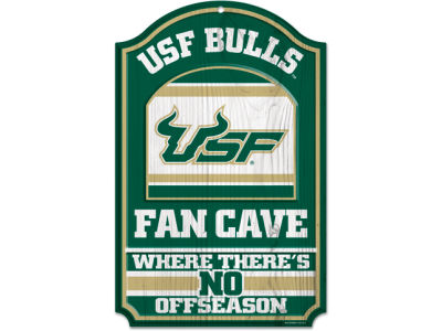 South Florida Bulls 11x17 Wood Sign