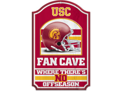 USC Trojans 11x17 Wood Sign