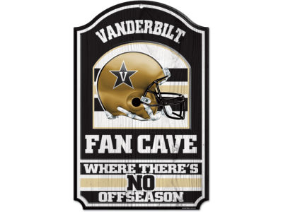 Vanderbilt Commodores 11x17 Wood Sign