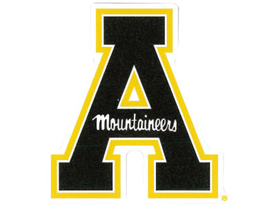 Appalachian State Mountaineers 4x4 Die Cut Decal Color