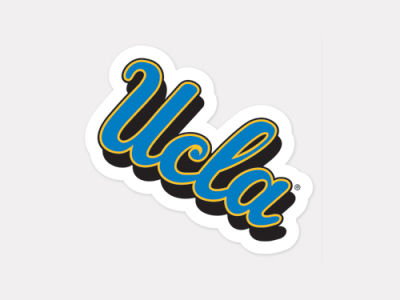 UCLA Bruins 4x4 Die Cut Decal Color