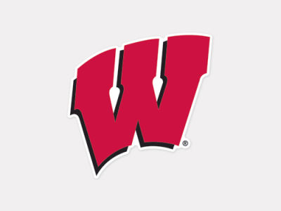 Wisconsin Badgers 4x4 Die Cut Decal Color