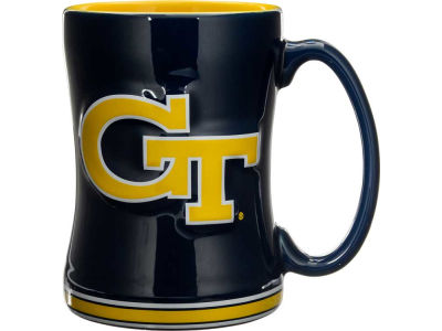 Georgia-Tech 14 oz Relief Mug
