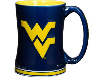 West Virginia Mountaineers 14 oz Relief Mug