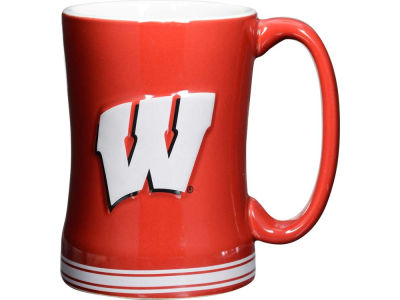 Wisconsin Badgers 14 oz Relief Mug
