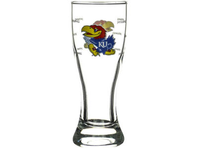Kansas Jayhawks Satin Etch Mini Pilsner