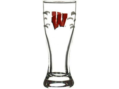 Wisconsin Badgers Satin Etch Mini Pilsner