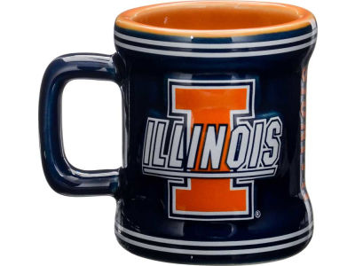 Illinois Fighting Illini 2oz Mini Mug Shot