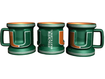 Miami Hurricanes 2oz Mini Mug Shot