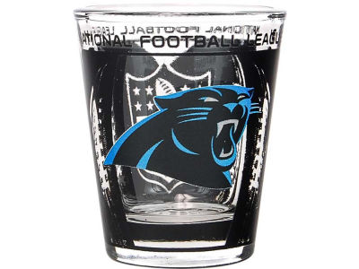 Carolina Panthers 3D Wrap Color Collector Glass