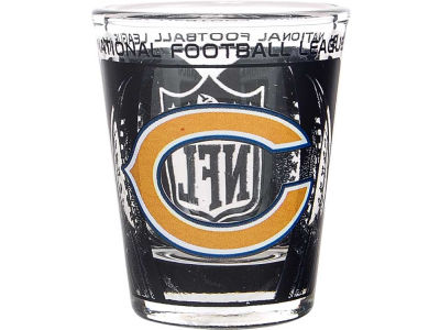 Chicago Bears 3D Wrap Color Collector Glass