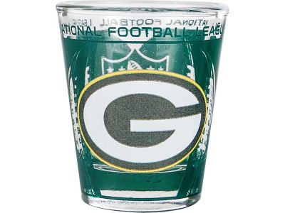 Green Bay Packers 3D Wrap Color Collector Glass